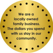 Bob Grubbs' Carpet Designers, Inc. is a locally owned family business.  The dollars you spend with us stay in our community.