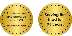 Serving the Triad for 91 years.